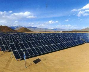 大型太阳能光伏并网发电站