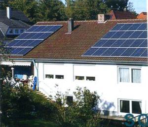 屋顶太阳能光伏并网发电系统